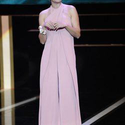 Los looks de Eva Hache en los Premios Goya 2013