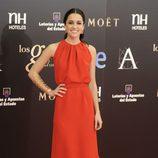 Macarena García con un vestido de Dior en los Premios Goya 2013
