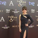 Blanca Suárez con un vestido negro de Pucci en los Goya 2013