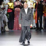 Francis Montesinos en su desfile en Madrid Fashion Week otoño/invierno 2013/2014