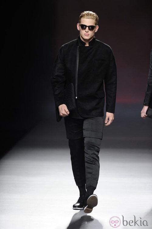 Look masculino de la colección otoño/invierno 2013/2014 de Ana Locking en Madrid Fashion Week