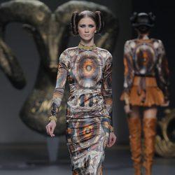 Vestido de la colección otoño/invierno 2013/2014 de Maya Hansen en Madrid Fashion Week
