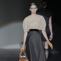 Falda de la colección otoño/invierno 2013/2014 de Juana Martín en Madrid Fashion Week