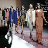 Carrusel final de la colección otoño/invierno 2013/2014 de Ailanto en Madrid Fashion Week