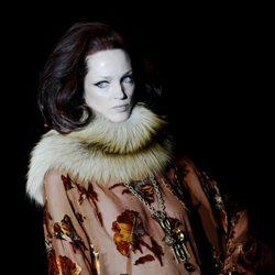 Camisa de flores de la colección otoño/invierno 2013/2014 de Roberto Verino en Madrid Fashion Week