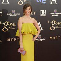 Manuela Velasco con joyas de Carrera y Carrera en los Goya 2013