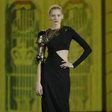 Armadura de oro de la colección otoño/invierno 2013/2014 de Aristocrazy en Madrid Fashion Week