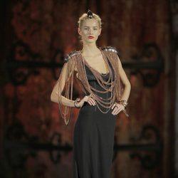 Collares largos de la colección otoño/invierno 2013/2014 de Aristocrazy en Madrid Fashion Week