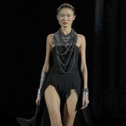 Collares maxi de la colección otoño/invierno 2013/2014 de Aristocrazy en Madrid Fashion Week