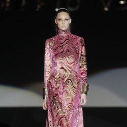 Vestido túnica de la colección otoño/invierno 2013/2014 de Roberto Verino en Madrid Fashion Week