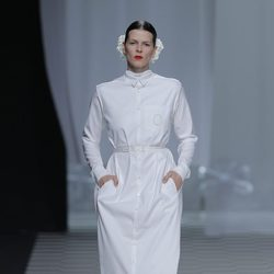 Bimba Bosé desfila para David Delfín en la Madrid Fashion Week otoño/invierno 2013/2014
