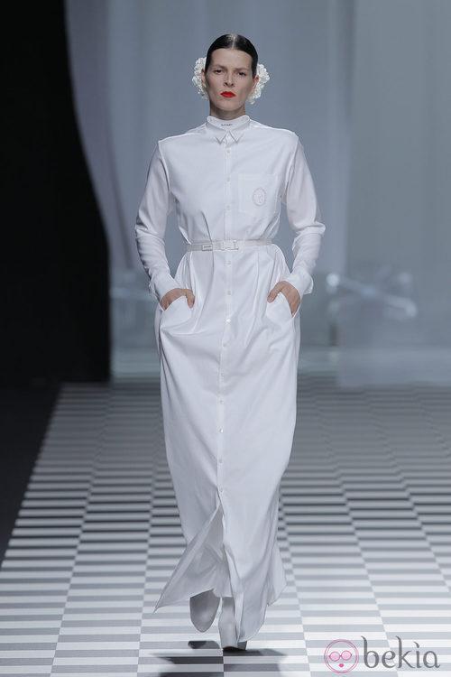 Bimba Bosé desfila para David Delfín en la Madrid Fashion Week otoño/invierno 2013/2014