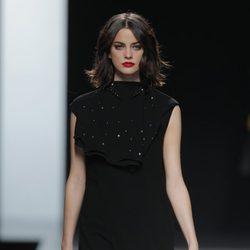 Vestido largo de la colección otoño/invierno 2013/2014 de Ion Fiz en Madrid Fashion Week