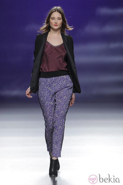 Conjunto casual de la colección otoño/invierno 2013/2014 de Sita Murt en Madrid Fashion Week