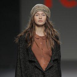 Chaqueta oversize de la colección otoño/invierno 2013/2014 de TCN en Madrid Fashion Week