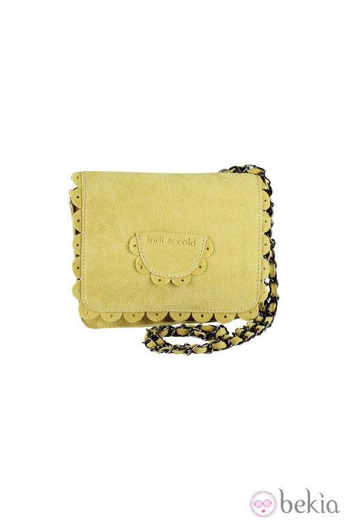 Clutch amarillo de Indi & Cold de la colección primavera/verano 2013