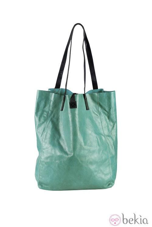 Bolso de asa larga verde de Indi & Cold de la colección primavera/verano 2013