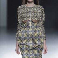 Colección otoño/invierno 2013/2014 de María Escoté y Martín Lamothe en Madrid Fashion Week
