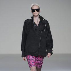 Abrigo oversize de la colección otoño/invierno 2013/2014 de POL en Madrid Fashion Week