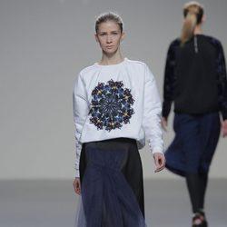 Falda con volantes de la colección otoño/invierno 2013/2014 de POL en Madrid Fashion Week