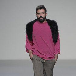 Jersey fucsia de la colección otoño/invierno 2013/2014 de Heridadegato en El Ego de Madrid Fashion Week