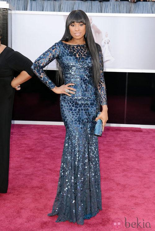 Jennifer Hudson con un vestido de Roberto Cavalli en los Oscar 2013