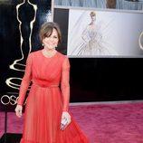 Sally Field con un vestido de Valentino en los Oscar 2013