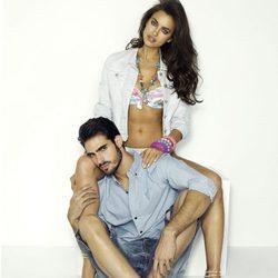 Irina Shayk y Juan Betancourt en la colección primavera/verano 2013 de Xti