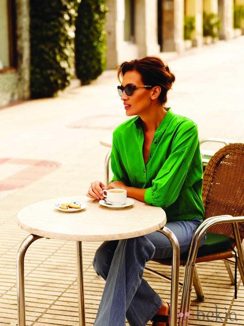 Nieves Álvarez, imagen de la campaña 2013/2014 de Transitions Optical