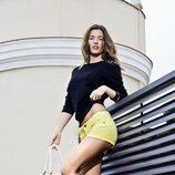 Malena Costa con unas sandalias de la colección primavera/verano 2013 de Refresh