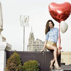 Malena Costa, embajadora de la colección primavera/verano 2013 de Refresh
