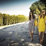 Alba Galocha y Dimphy Jansen con vestidos de la colección primavera/verano 2013 de Indi & Cold