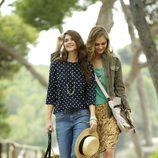 Alba Galocha y Dimphy Jansen, embajadoras de la colección primavera/verano 2013 de Indi & Cold