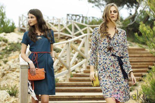 Alba Galocha y Dimphy Jansen promocionan la primavera/verano 2013 de Indi & Cold