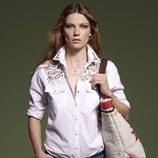 Camisa blanca de la colección primavera/verano 2013 de SuiteBlanco