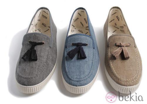 Zapatillas con borlas de Victoria para la colección primavera/verano 2013