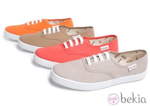 Zapatillas de colores Victoria para la colección primavera/verano 2013