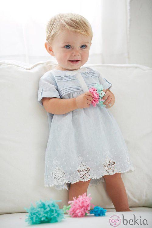 Vestido de bebé de la colección My First Chicco primavera/verano 2013 de Chicco