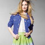 Falda de la colección primavera/verano 2013 de Benetton