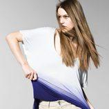 Camiseta oversized de la colección primavera/verano 2013 de Benetton