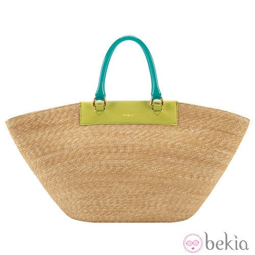 Bolso cesta de la colección primavera/verano 2013 de Furla