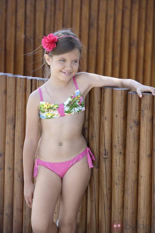 Biquini de la colección 'South Beach' verano 2013 de Dolores Cortés Kids