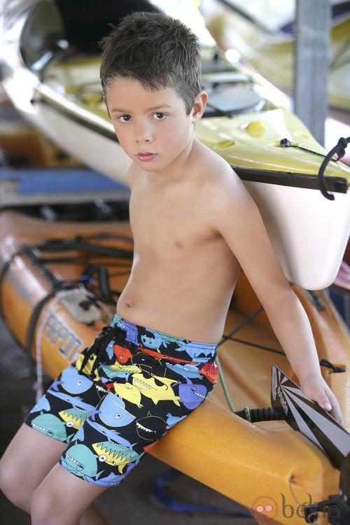 Bañador de la colección 'South Beach' verano 2013 de Dolores Cortés Kids
