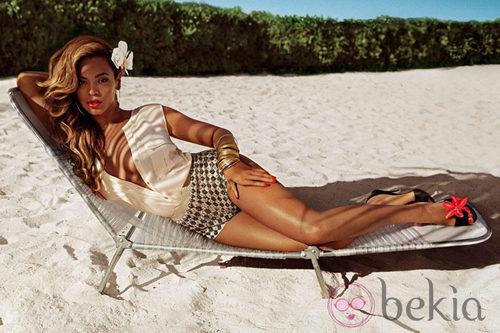 Beyoncé, imagen de la colección primavera/verano 2013 de H&M