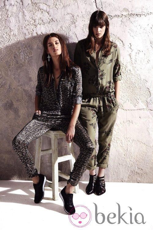 Dos modelos de jumpsuit de la colección primavera/verano 2013 de River Island