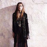 Vestido largo con transparencias de la colección primavera/verano 2013 de River Island