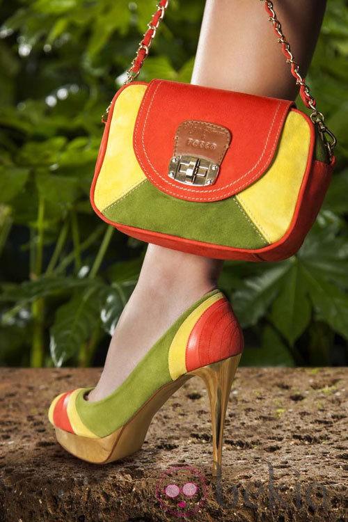 Modelo 'Trimex' de la colección primavera/verano 2013 de Maya Hansen para Fosco
