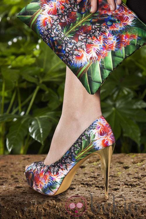 Modelo 'Jungle' de la colección primavera/verano 2013 de Maya Hansen para Fosco