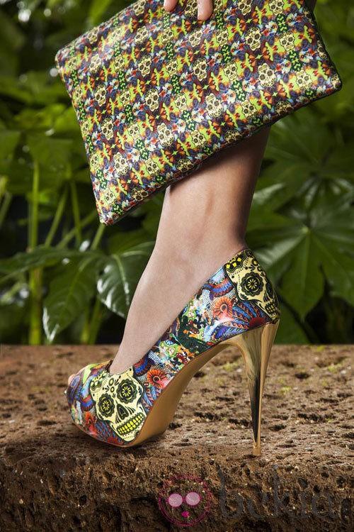 Modelo 'Skully' de la colección primavera/verano 2013 de Maya Hansen para Fosco