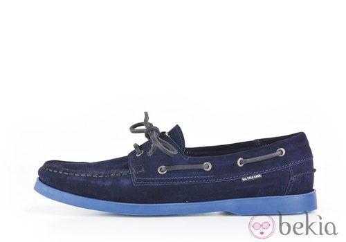 Náutico azul de la colección masculina primavera/verano 2013 de U.S. Polo Assn.
